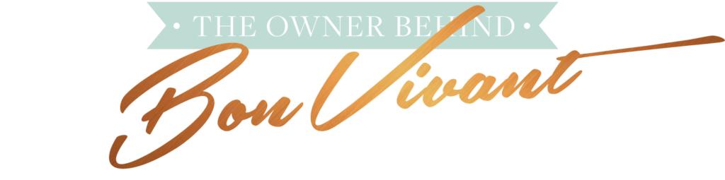 The owner behind Bon Vivant Copy, Emily Matras