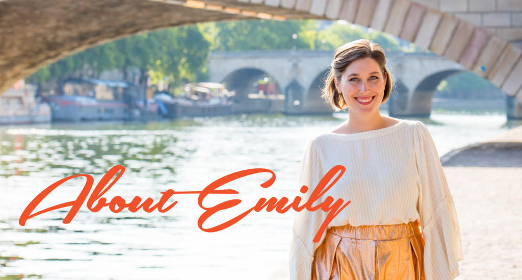 about Emily Matras, copywriter for travel professionals